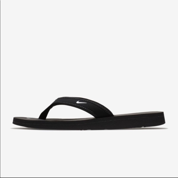 Nwt Womens Nike Black White Flip Flops